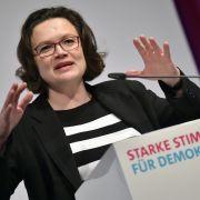 Nahles und Co: SPD-Frauen wettern gegen Innenminister (Foto)