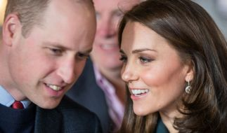 Prinz William und Kate Middleton erwarten im April ihr drittes Kind. (Foto)