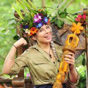 Bei der Krönung zur Dschungelkönigin konnte Jenny Frankhauser strahlen. (Foto)