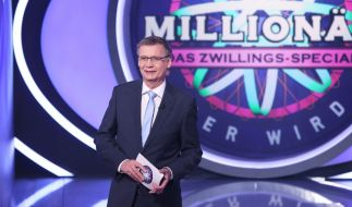 """Günther Jauch bittet zu """"Wer wird Millionär? - Das Zwillings-Special"""". (Foto)"""