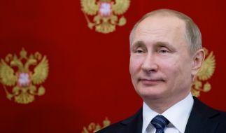 Wladimir Putin ist bei den Präsidentenwahlen in Russland wiedergewählt worden. (Foto)