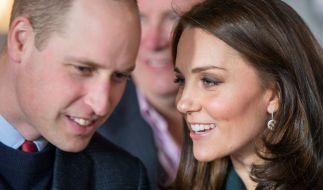 Erwarten ihr drittes Kind: Prinz William und Herzogin Kate. (Foto)