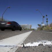 Selbstfahrendes Auto tötet Fußgängerin (Foto)