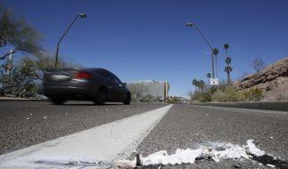 Eine Fußgängerin wurde von einem autonom fahrenden Auto getötet. (Foto)