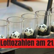 Lotto-Gewinnzahlen und Quoten vom Mittwoch (Foto)