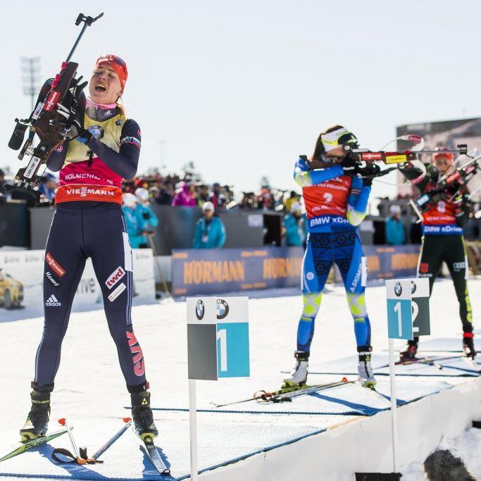 Domratschewa siegt! Dahlmeier vergibt 20. Weltcupsieg (Foto)