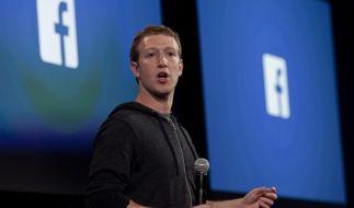 Mark Zuckerberg gerät in Bedrängnis im Facebook-Datenskandal. (Foto)