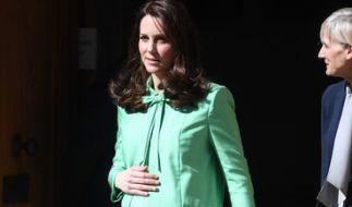 Der Baby-Countdown läuft: In Kürze erwartet Kate Middleton ihr drittes Kind. (Foto)