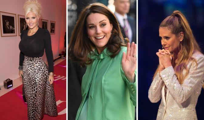 Kate Middleton, Sophia Vegas Wollersheim und Schweini