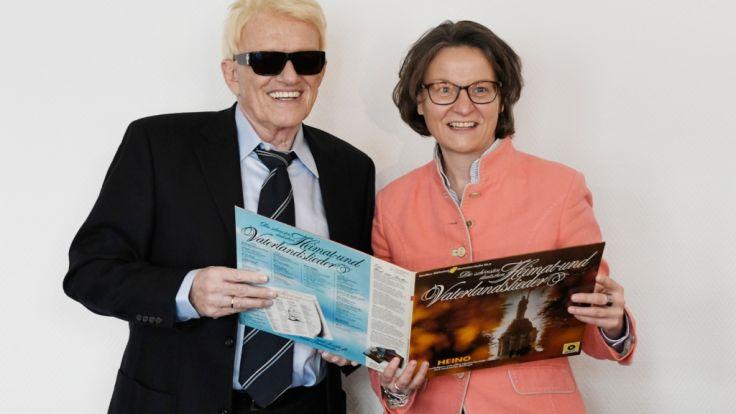 Heino kontert Kritik an Platte mit SS-Liedgut
