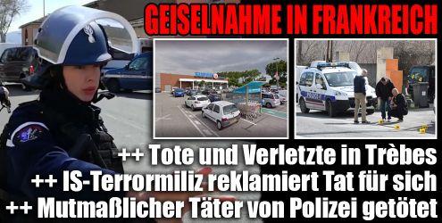 IS-Terror in Frankreich im News-Ticker