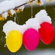 Kälte-Schock vor Ostern! HIER fällt wieder Schnee (Foto)