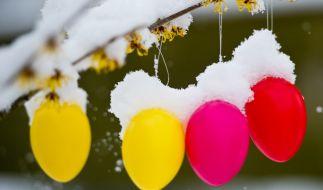 Vor Ostern kommt die Kälte nochmal zurück. (Foto)