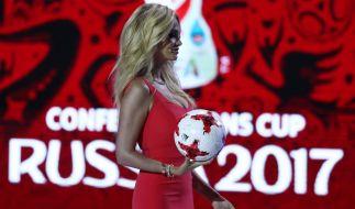 Victoria Lopyreva ist die offizielle Repräsentantin der Fußball-WM 2018. (Foto)