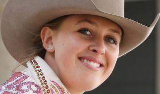 Gina-Maria Schumacher ist erfolgreich im Westernreiten. (Foto)