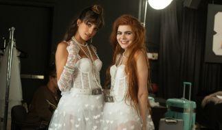 """Ja, ich will! In Folge 8 von """"Germany's Next Topmodel"""" schlüpfen Klaudia Giez und die anderen GNTM-Kandidatinnen in Hochzeitskleider. (Foto)"""