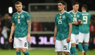 Toni Kroos musste mit der Nationalmannschaft eine Niederlage einstecken. (Foto)