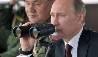 Wladimir Putin rüstet angeblich seine atomare Superwaffe auf. (Foto)