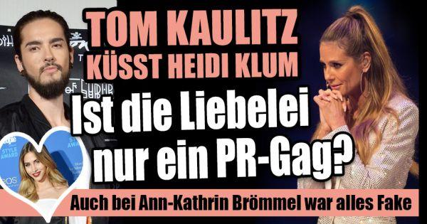 Heidi Klum Und Tom Kaulitz Alles Fake Auch Bei Model Ann Kathrin