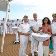 Ahoi! Die MS Deutschland nahm zu Ostern Kurs auf die Malediven (Foto)