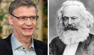 Historisch gesehen besteht eine interessante Verindung zwischen TV-Moderator Günther Jauch und Karl Marx. (Foto)