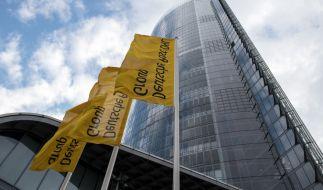 Zentrale der Deutschen Post in Bonn: Das Unternehmen weist die Weitergabe von Daten zurück. (Foto)