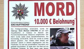 Der brutale Mord an dem Obdachlosen Gerd Michael Straten in Koblenz gibt den Ermittlern Rätsel auf. (Foto)