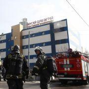 Mann stirbt nach Brand im Kaufhaus (Foto)