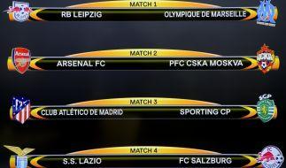 Im Viertelfinale der Europa League 2018 muss RB Leipzig gegen Olympique Marseille ran. (Foto)