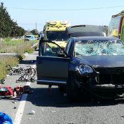 Porsche-Fahrerin (28) bekifft bei Unfall - 1 Toter, 8 Verletzte (Foto)