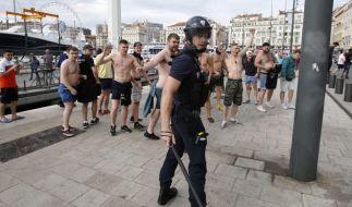 Vor der Fußball-WM in Russland machen sich Hooligans angeblich fit für geplante Ausschreitungen. (Foto)