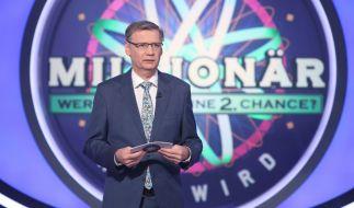 """Bei """"Wer wird Millionär?"""" schockierte Günther Jauch mit einem überraschenden Geständnis. (Foto)"""