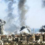 """""""Barbarischer Angriff!"""" Donald Trump droht """"Schlächter"""" Assad mit Militärschlag (Foto)"""