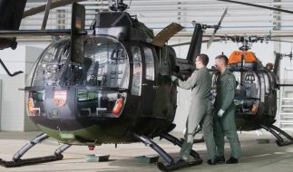Ein Bundeswehrhubschrauber hat beim Streifen des Towers einen Menschen getötet (Symbolbild). (Foto)