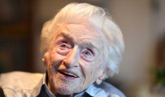 Edelgard Huber von Gersdorff galt als die älteste Frau Deutschlands. Sie starb am Montag im Alter von 112 Jahren. (Foto)