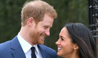 Prinz Harry und Meghan Markle pfeifen bei ihrer Hochzeit auf Konventionen. (Foto)