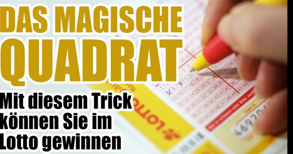 Lotto Gewinnen Tricks