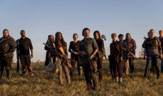 """Das Finale von Staffel 8 von """"The Walking Dead"""" wird blutig. (Foto)"""