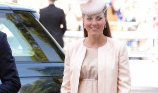 Kate Middleton bereitet sich auf die Geburt ihres dritten Kindes vor. (Foto)