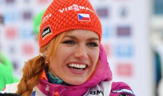 Gabriela Koukalova pausiert auch in der kommenden Biathlon-Saison. (Foto)