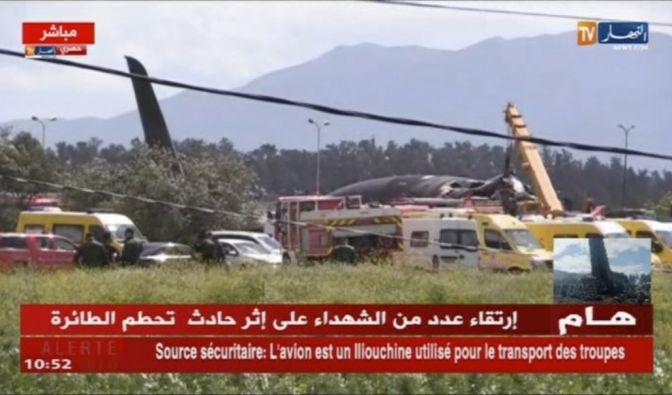 Flugzeugabsturz in Algerien