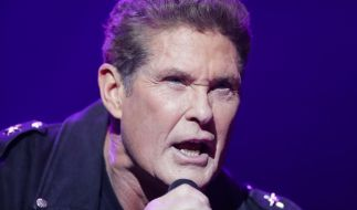 David Hasselhoff startete am 11. April seine Deutschland-Tour in Berlin. (Foto)
