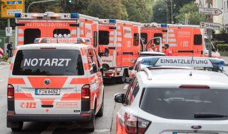 Rettungskräfte sind in Offenbach im Großeinsatz. (Symbolbild) (Foto)