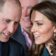 Verplappert! Prinz William verrät Geschlecht und Name von Baby Nr. 3 (Foto)