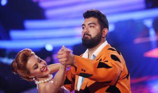"Komiker Faisal Kawusi (r.) nahm 2017 an der RTL-Tanzshow ""Let's Dance"" teil. (Foto)"