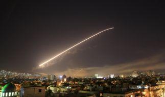 Die USA und ihre Verbündeten haben Ernst gemacht. (Foto)