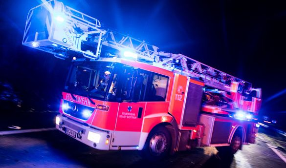 Feuer in Offenbach