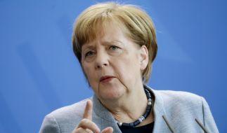 Vor allem die Unionsparteien profitieren von der angespannten, weltpolitischen Lage. (Foto)