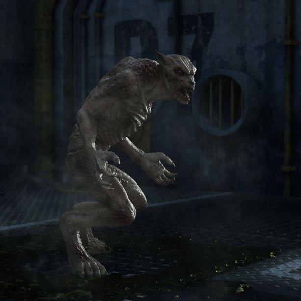 DIESE Kreatur verbreitet Angst und Schrecken! (Foto)