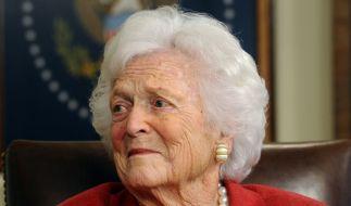 Die ehemalige First Lady Barbara Bush ist im Alter von 92 Jahren gestorben. (Foto)